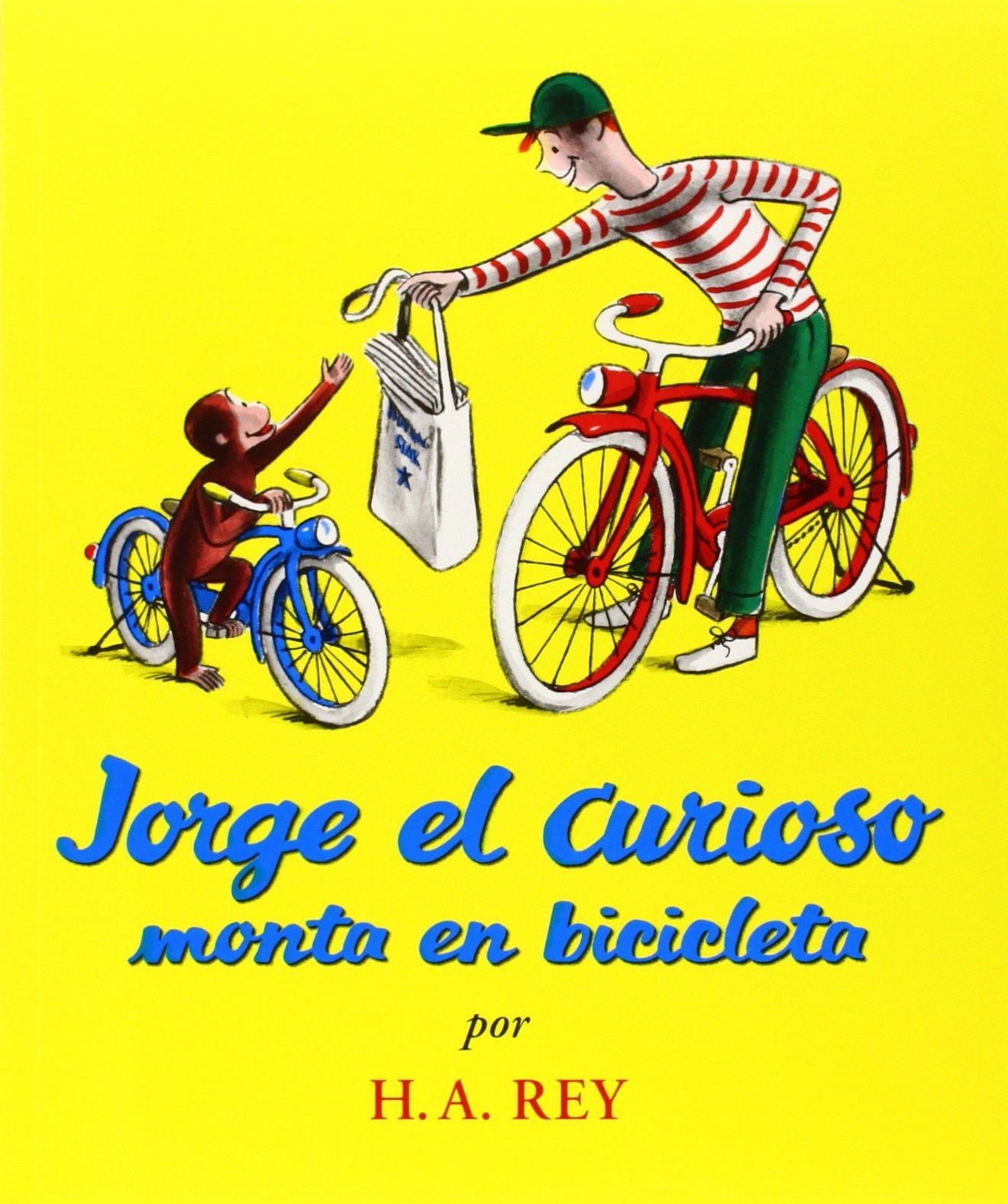 Jorge el Curioso Monta en Bicicleta (Curious George): Amazon.es ...