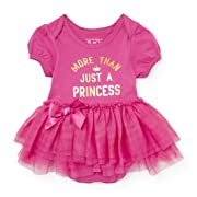 The Children's Place Baby Girls' Tutu Bodysuit, Glamorous 86683, 9-12MOS