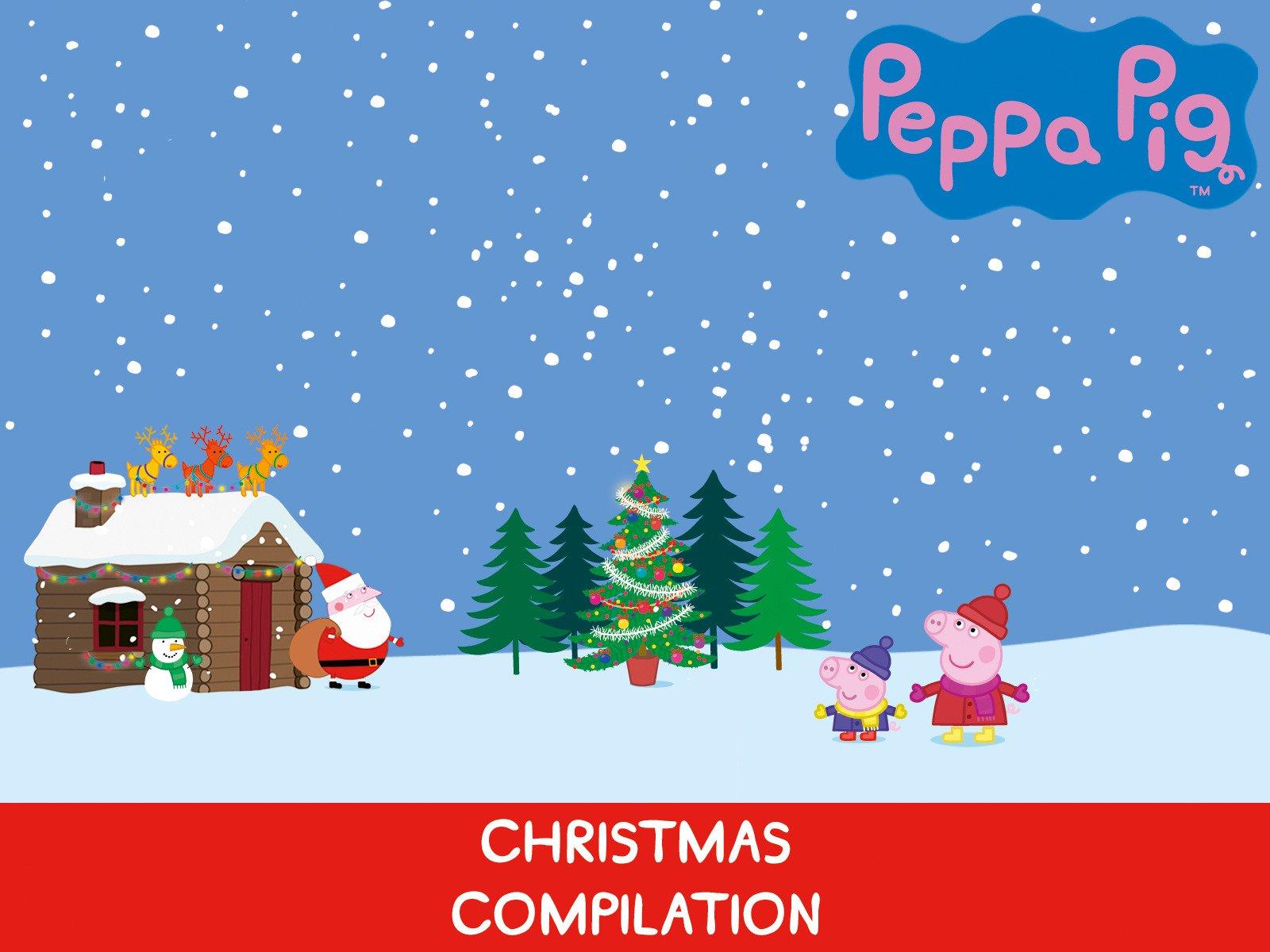 Peppa Pig Christmas.Amazon Co Uk Watch Peppa Pig Christmas Compilation