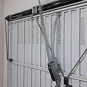 Herraje de brazo curvo articulado dise/ñado para puertas basculantes de muelles de 1 hoja y seccionales de la marca ROPER o similar