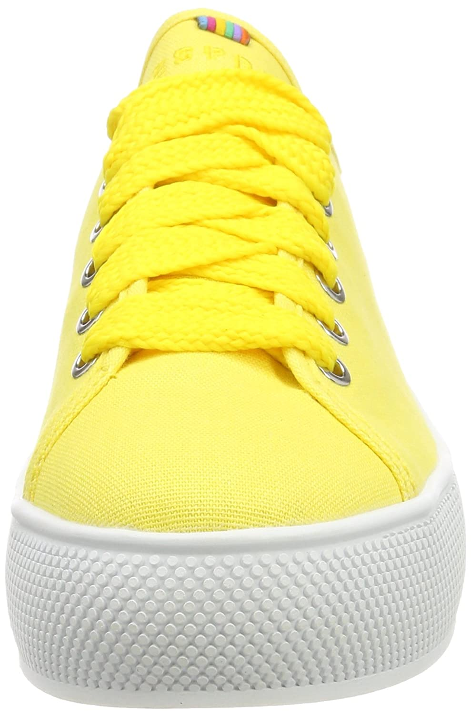 ESPRIT Damen Barbie Barbie Barbie Lu Sneaker Gelb (Yellow) 8fff76