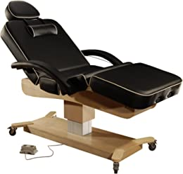 "Mt 30"" MaxKing Salon Electric Massage Table Package Electric Lift Table with 3.5"" Cloudysoft Sponge System"