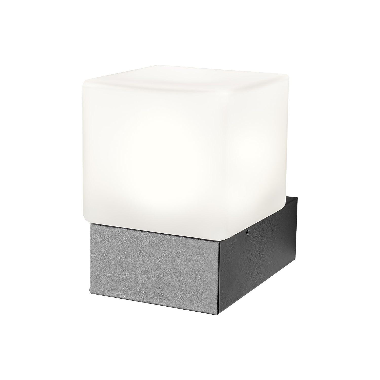Heibi LED applique da parete quadi, colore  grigio