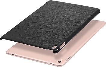 """StilGut Cover, Coque en Cuir véritable pour Apple iPad Pro 9.7"""" (2016), Compatible avec Smart Keyboard et Smart Cover"""