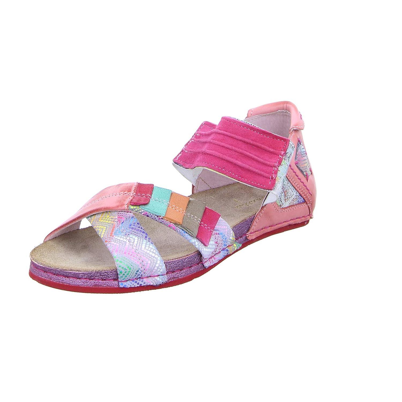 red-kombi Maciejka Women Sandals red, (red-Kombi) 03375-15 00-5