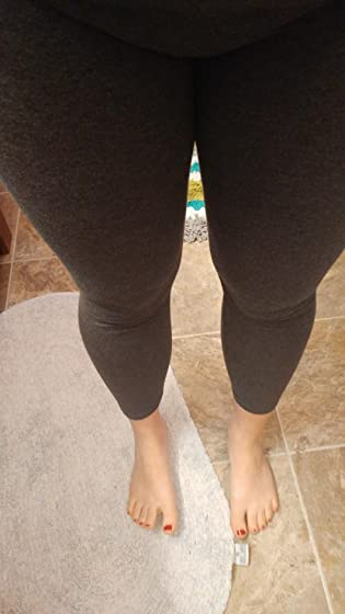 EttelLut Cotton Spandex Basic Leggings Pants-Jersey Full/Capri Regular/Plus Size Cheap and break