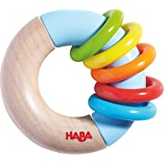 HABA 302139 Ring Around Clutching Toy