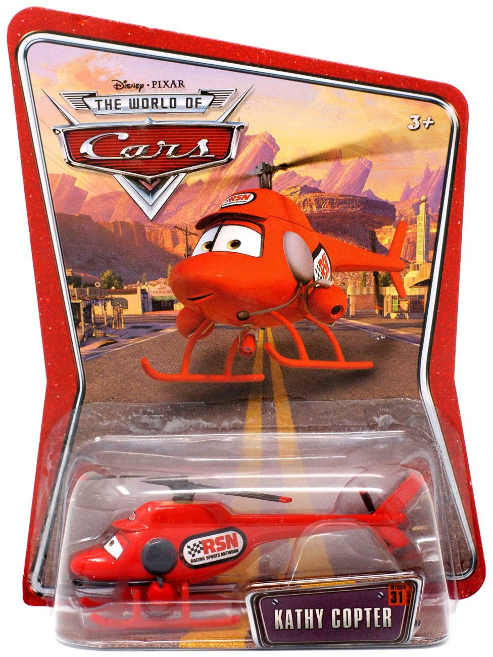 Disney Pixar Cars the World of Cars Kathy Copter  31