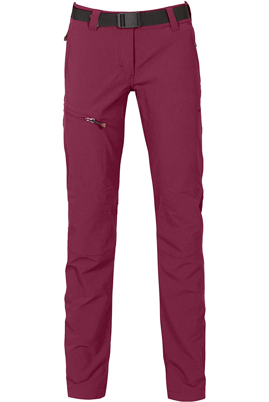 Bergson Damen Outdoorhose MENA (Slim fit) - Bielastische Outdoorhose, schmaler Schnitt,schnelltrocknend, pflegeleicht, dryprotec Gewebe