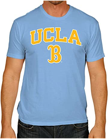 0757219fda107 Campus Colors UCLA Bruins Arch   Logo Gameday Softstyle T-Shirt - Light Blue