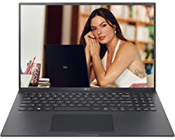 "Notebook LG gram, 1.190g, Intel Core i7-1165G7, 16GB LPDDR4X 4266MHz, SSD 256GB NVMe, Windows 10 Home, IPS FHD 16"", Preto, 16"