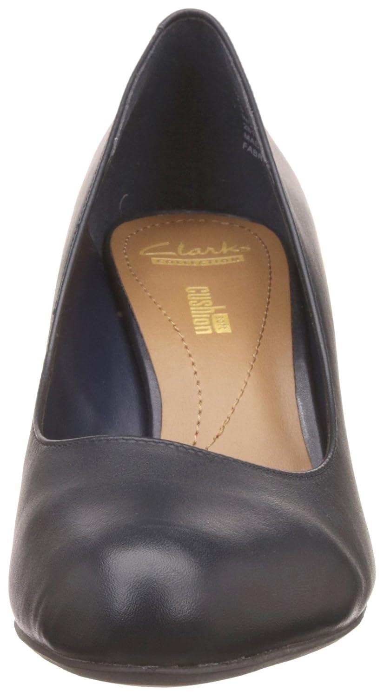 Clarks Arista Arista Clarks Abe Navy Leather 3 UK D   35.5 EU e728a1