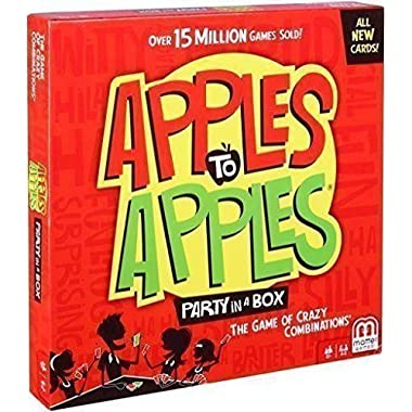 Mattel Apples to Apples Party in A Box All New Cards