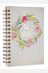 Be Still Watercolor Hardcover Large Wirebound Journal - Psalm 46:10 Spiral-bound