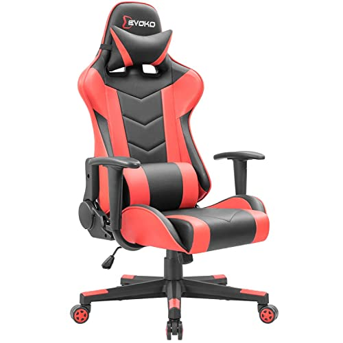 Gaming Chair Red Amazon Com