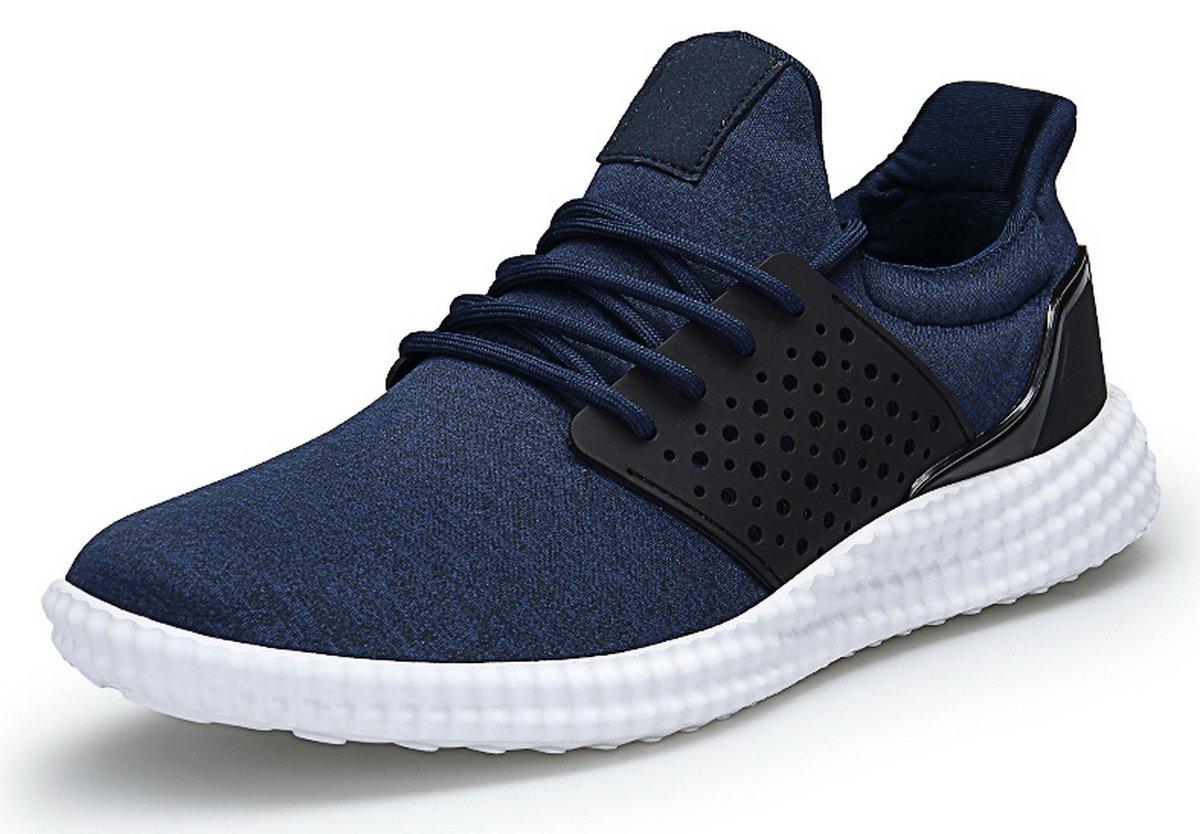 JOOMRA Herren Sneaker Atmungsaktiv Leichte Turnschuhe Blau