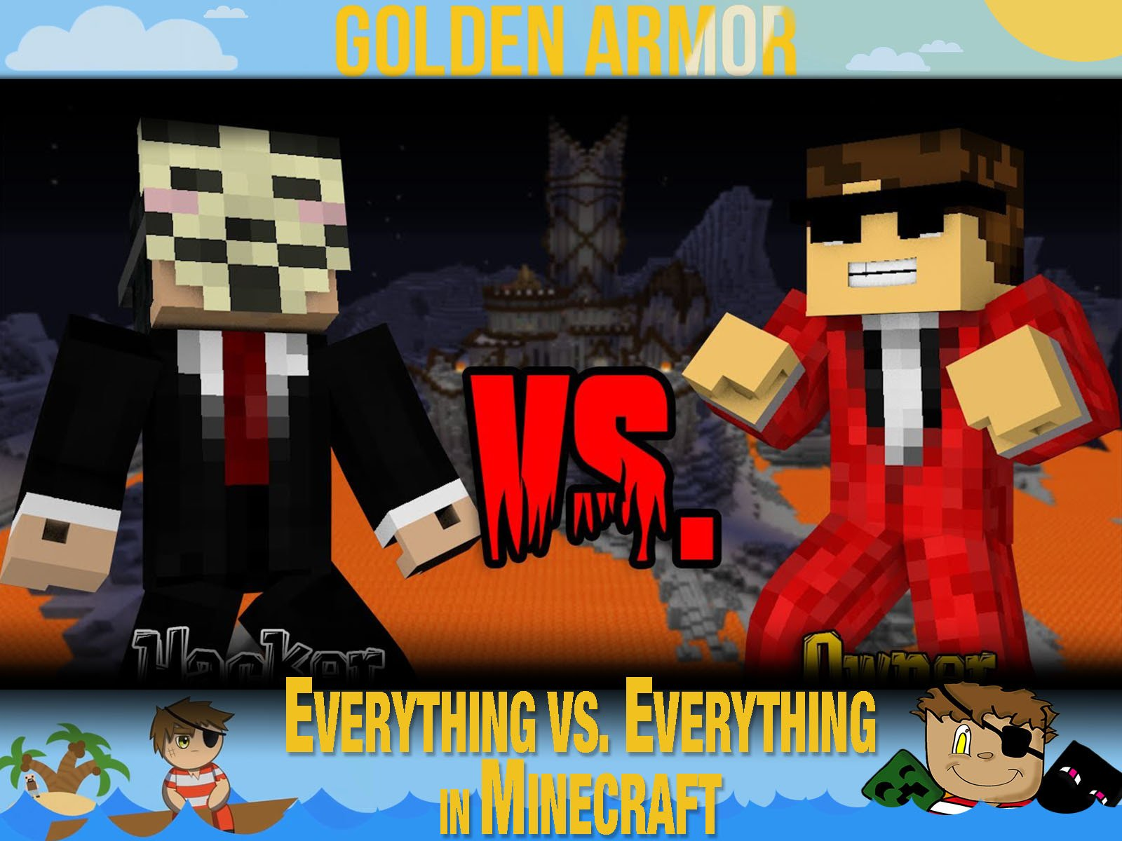 Clip: Golden Armor - Everything vs. Everything in Minecraft on Amazon Prime Video UK