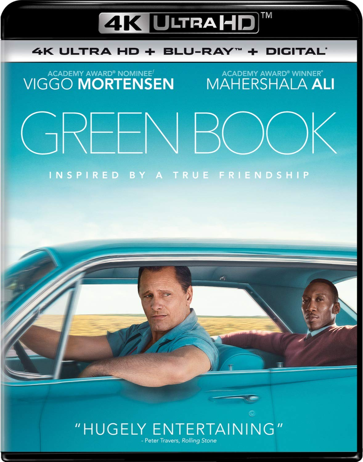 4K Blu-ray : Green Book (With Blu-ray, 4K Mastering, Digital Copy, 2 Pack)