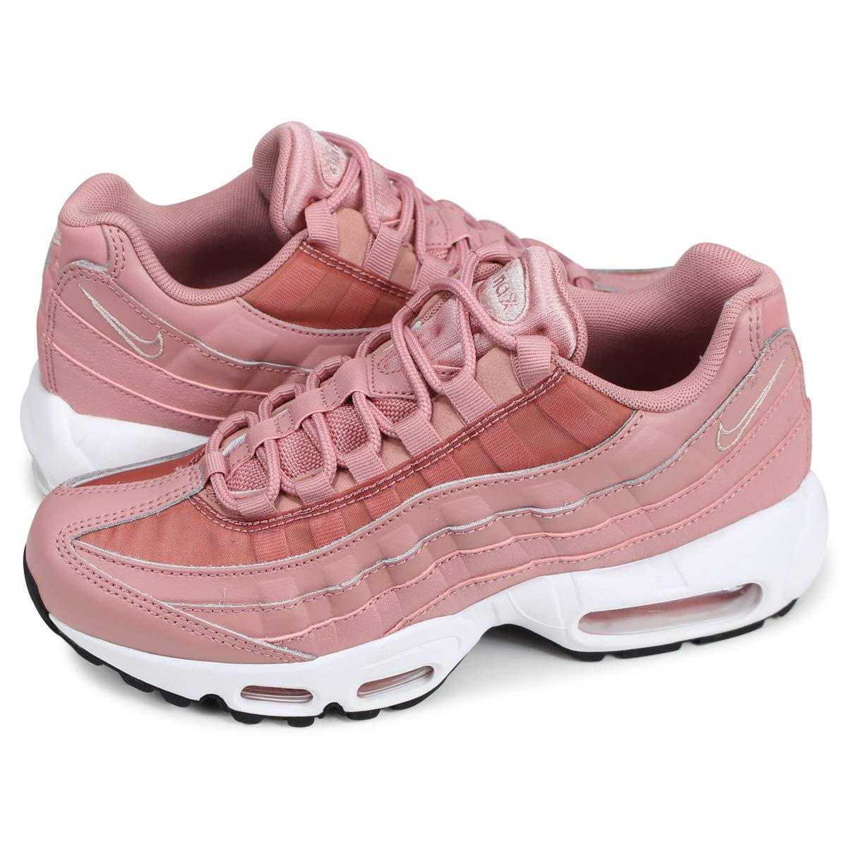 MultiCouleure (Rust rose Particle Beige noir blanc 606) Nike WMNS Air Max 95, Chaussures de Fitness Femme 41 EU