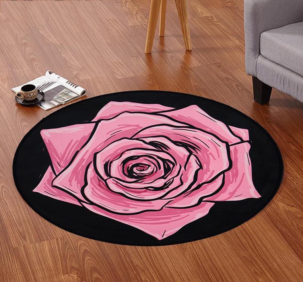 DYI European circular carpet, living room carpet, mat, bedroom carpet, 5