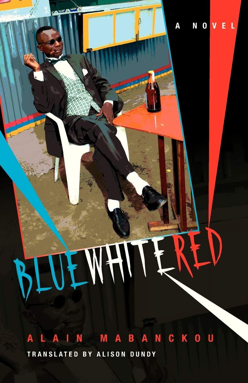 Alain Mabanckou Blue White Red