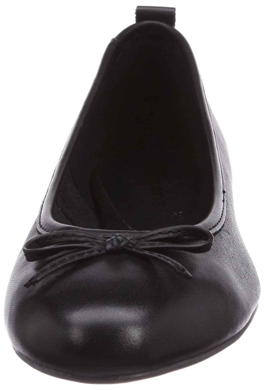 Tamaris 22122 Damen Geschlossene Ballerinas 001) Schwarz (schwarz 001) Ballerinas aa4ab8
