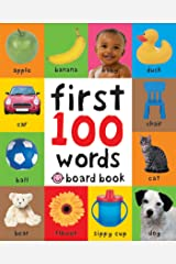 First 100 Words: A Padded Board Book Kindle Edition