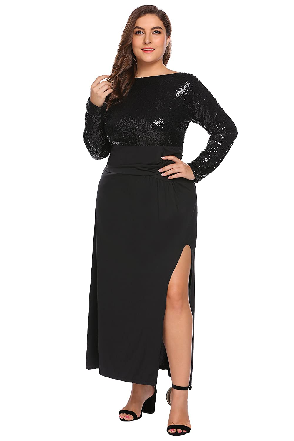 6ac7896a3ac Long Sleeve Backless Maxi Dress - Data Dynamic AG