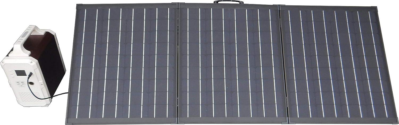 EJ-POWER ポータブル蓄電池+折りたたみ式ソーラーパネル150Wセット EB120-P1 EJSTSP150