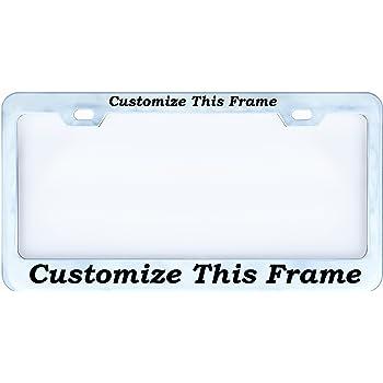 Personalized License Plate Frame cheap - eastavonfleamarket.com