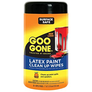Cleaning latex paint