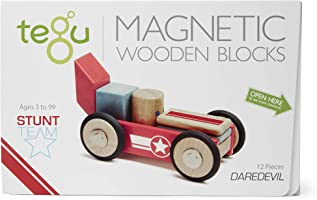 Tegu Daredevil Magnetic Wooden Block Set
