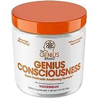 Genius Consciousness - Super Nootropic Brain Booster Supplement - Enhance Focus, Boost Concentration & Improve Memory   Mind Enhancement with Alpha GPC & Lions Mane Mushroom for Neuro Energy & IQ