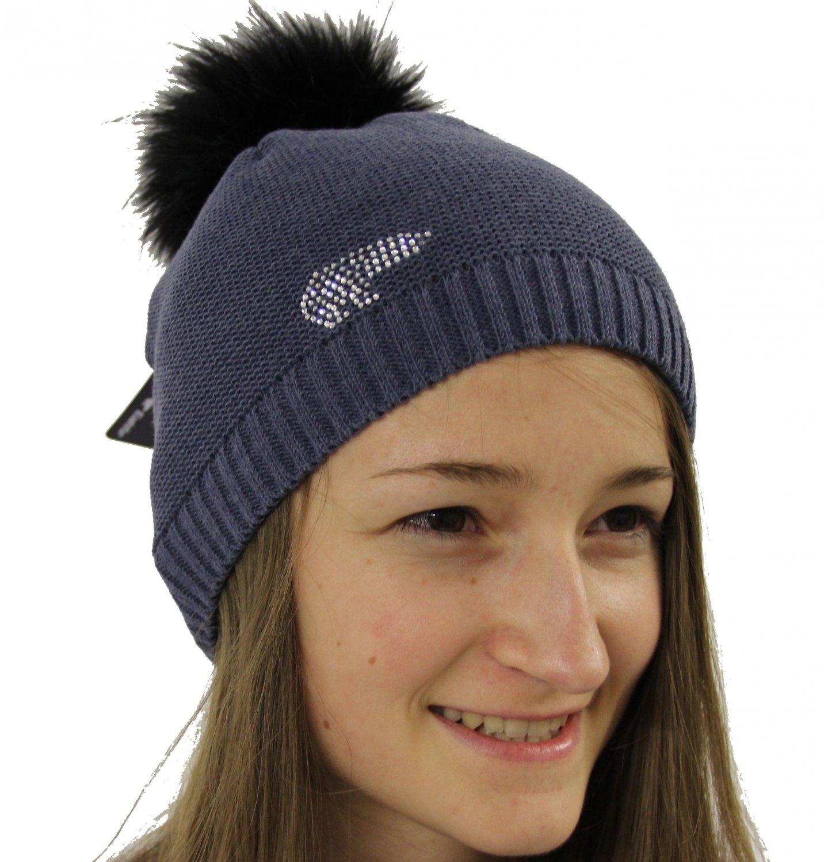 Eisbär Carina Lux Crystal Mütze