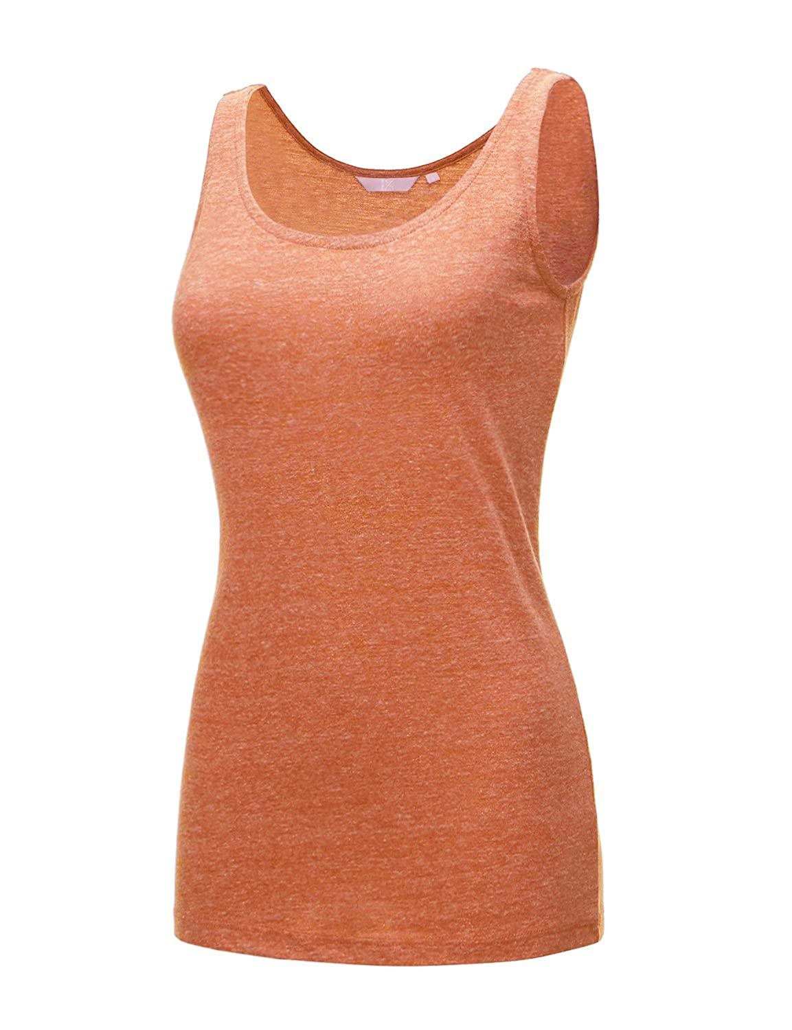 17507_orange Regna X [RESTOCK Activewear Running Workouts Clothes Yoga Racerback Tank Tops for Women