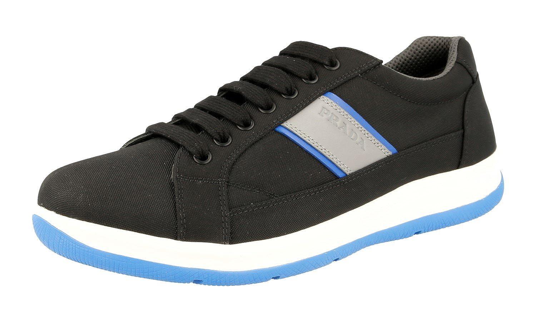 Prada Men's 4E2987 OQ6 F098P Fabric Sneaker B076HV1Q5D Fashion Fashion Fashion Sneakers 7838e9