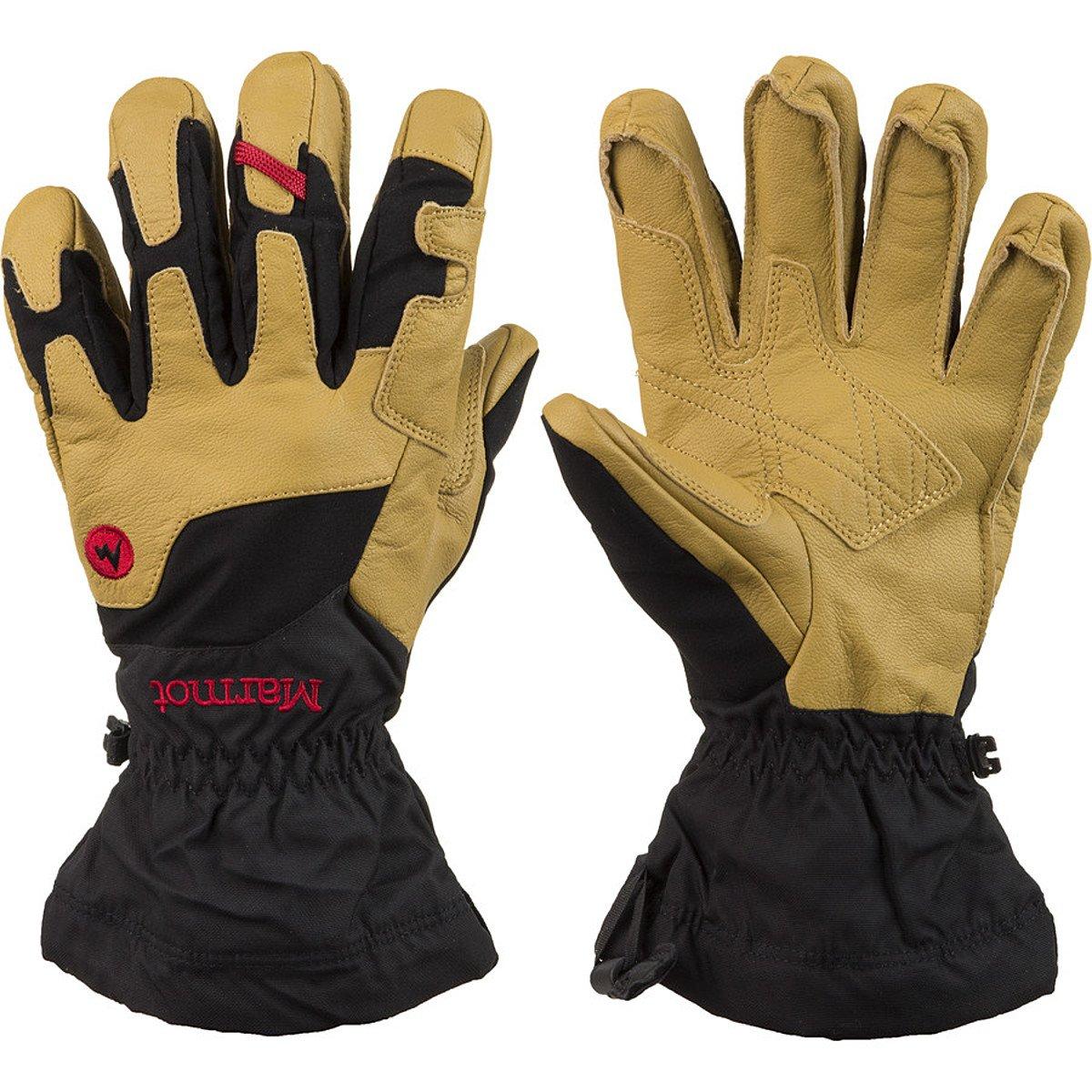 Marmot – Exum Guide Gloves, Schwarz, Gold, Größe M