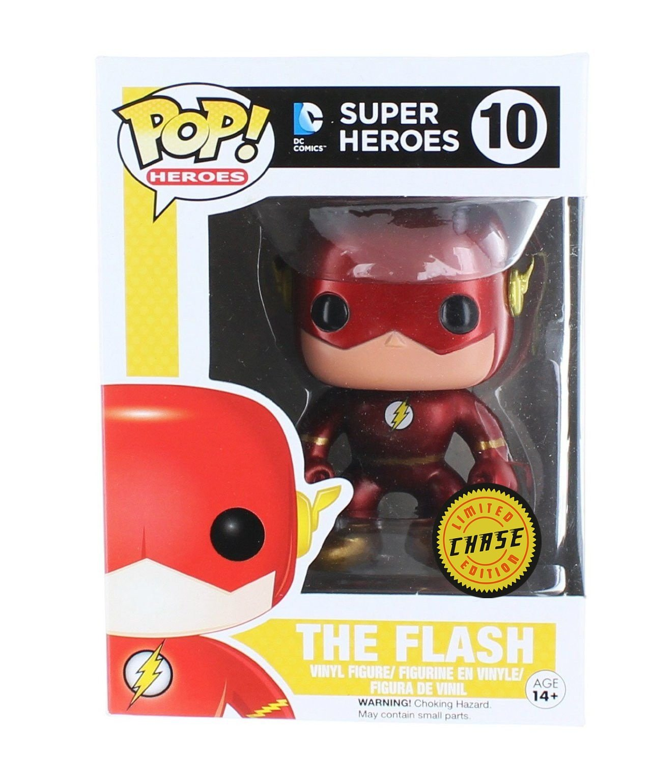 Funko Pop The Flash Chase by FunKo