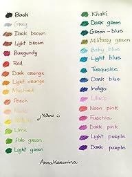 Amazon.com : Fineliner Color Pen Set (HUGE SET OF 60
