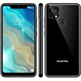 OUKITEL C22 Unlocked Smartphones (2021 New) 128GB/4GB Android 10 Unlocked Cell Phones with Dual Sim 256GB Expandable 5.86'' 4