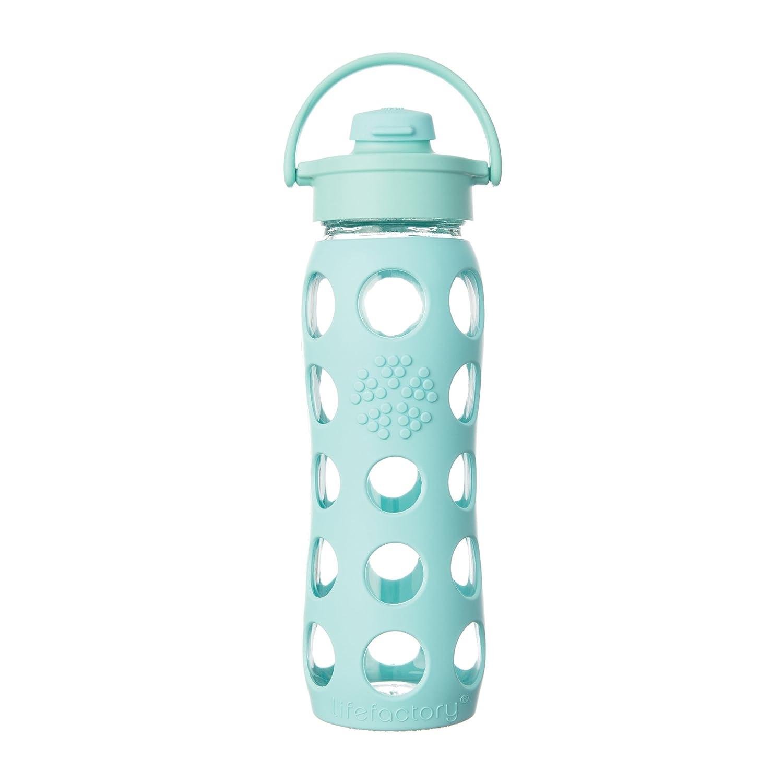 leichte glas trinkflasche
