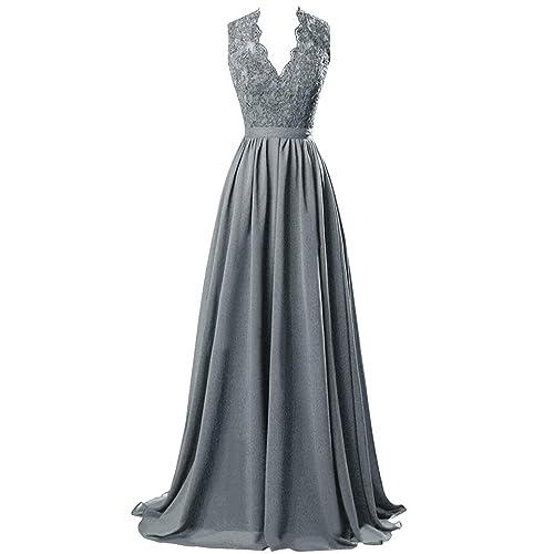 Dark Grey Evening Gowns Amazon