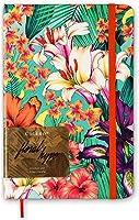 Sketchbook Floral Hype por Clau Cicala 80 g/m² 14,0 x 21,0 cm com 160 Páginas Cicero