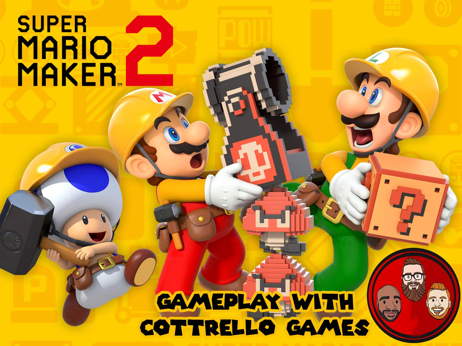 Super Mario Maker 2 Multiplayer with Cottrello Games