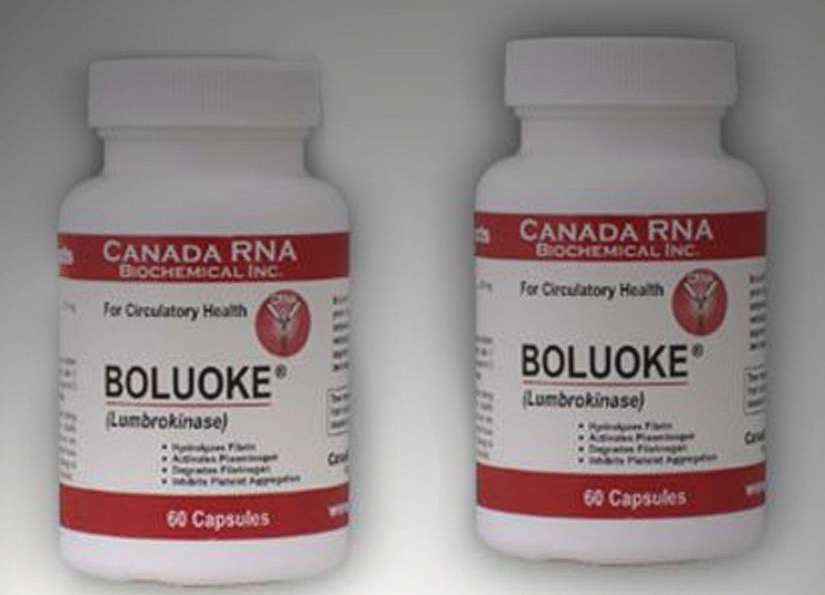 Boluoke (Lumbrokinase) for Circulatory Health Canada RNA, 60