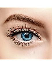 chromaview Farbverbessernde Vollgetönte Farbige Kontaktlinsen Ohne Stärke Blau (30 Tage)
