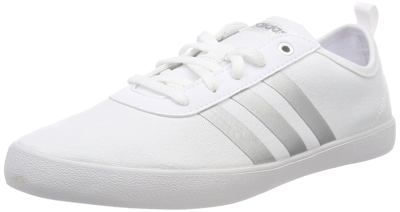 Adidas Qt Vulc 2.0 W, Zapatillas de Deporte para Mujer 37 1/3 EU|Blanco (Ftwbla / Plamet / Aerorr 000)