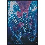 (100) Yu-Gi-Oh Card Protecter Blue Eyes Chaos MAX Dragon Card Sleeves 100 Pieces 63x90mm