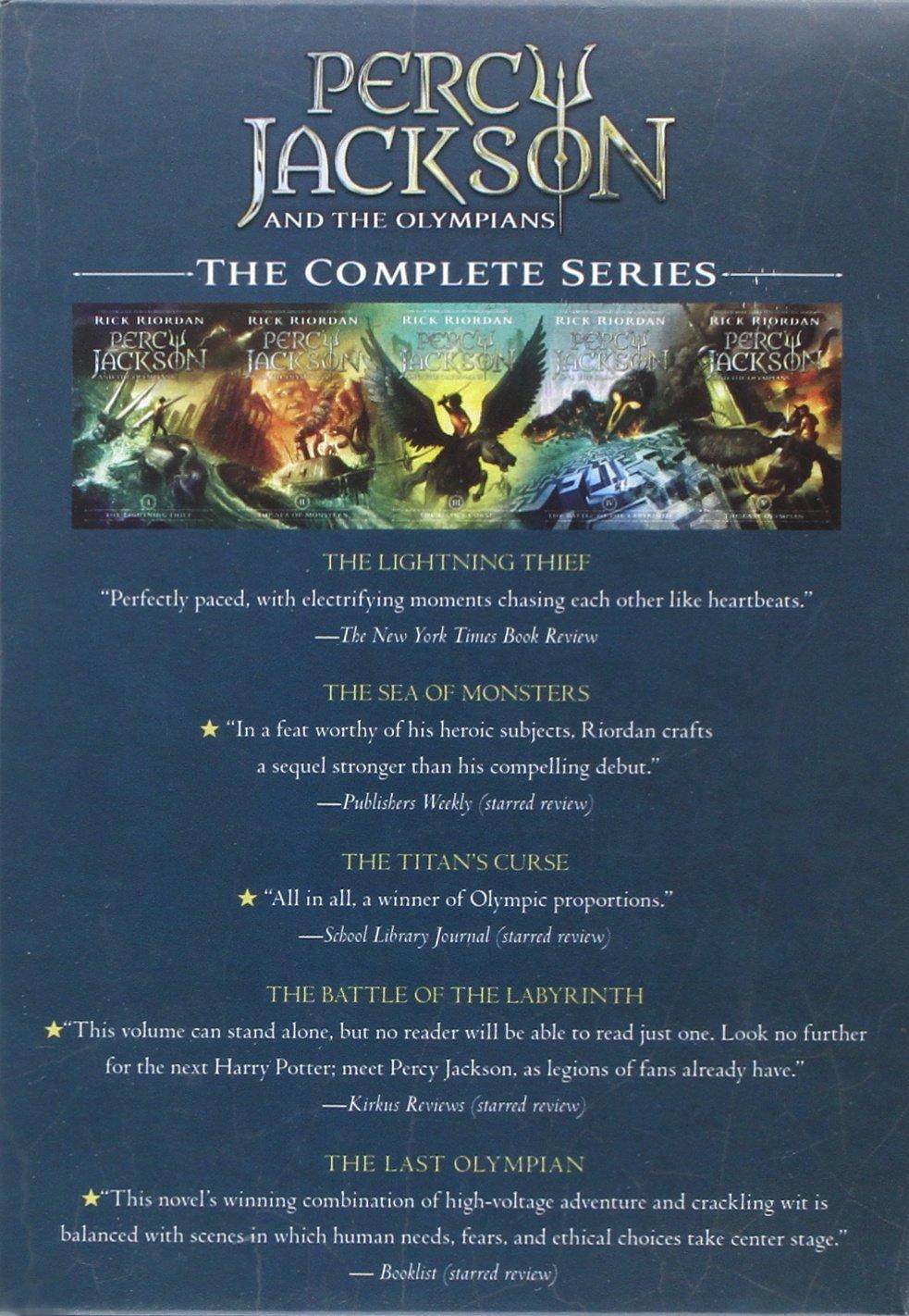 Riordan, R: Percy Jackson and the Olympians Percy Jackson & the Olympians: Amazon.es: Riordan, Rick: Libros en idiomas extranjeros