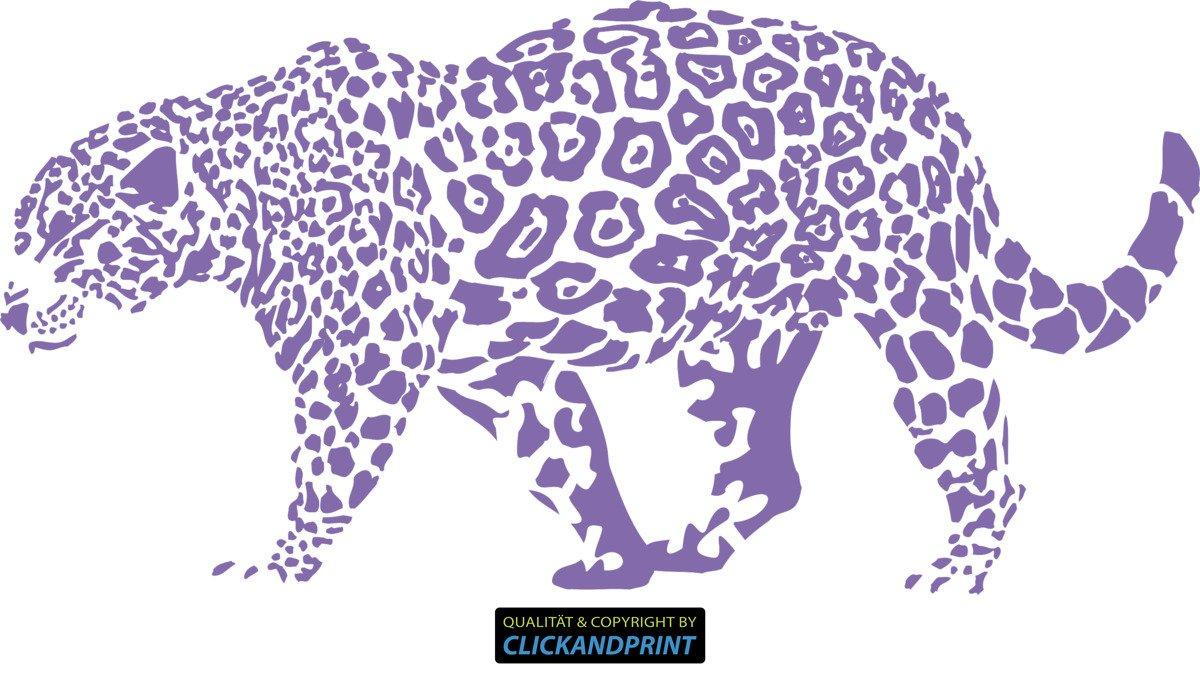 CLICKANDPRINT CLICKANDPRINT CLICKANDPRINT Aufkleber » Leopard, 150x74,4cm, Türkis • Wandtattoo   Wandaufkleber   Wandsticker   Wanddeko   Vinyl B073X7Q1LD Wandtattoos & Wandbilder 84a663